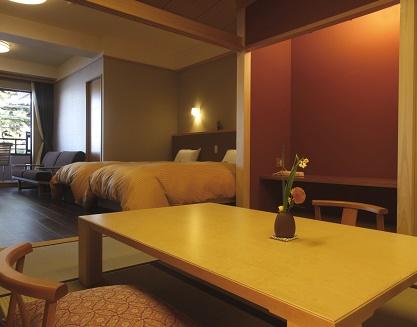 本館特別室(露天風呂付和洋室)