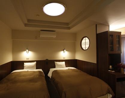 新館2階露天風呂和洋室(露天風呂)A