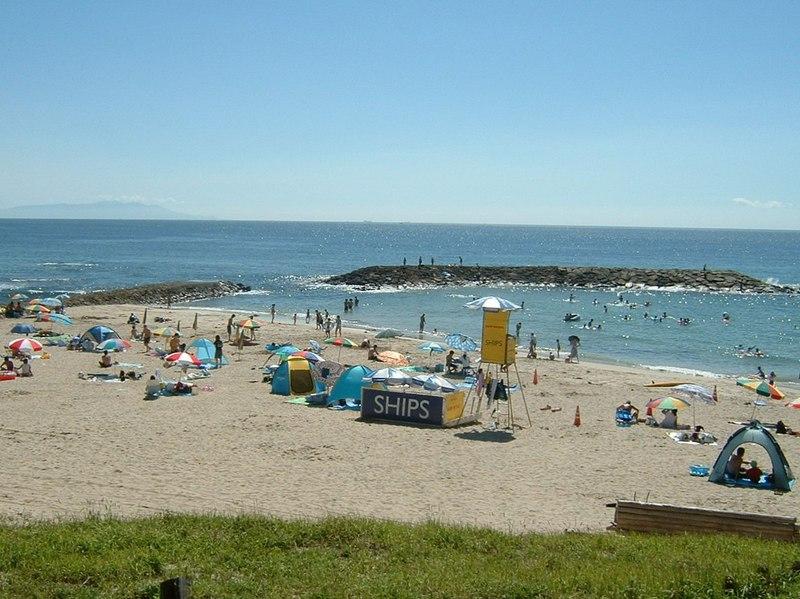 浴場 白浜 中央 海水